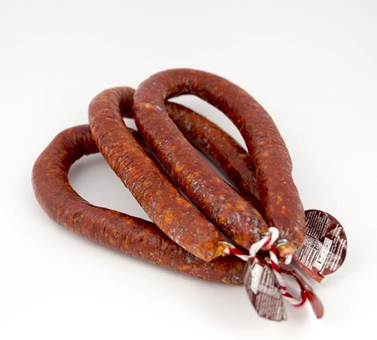 Chorizo Casero Herradura Picante.