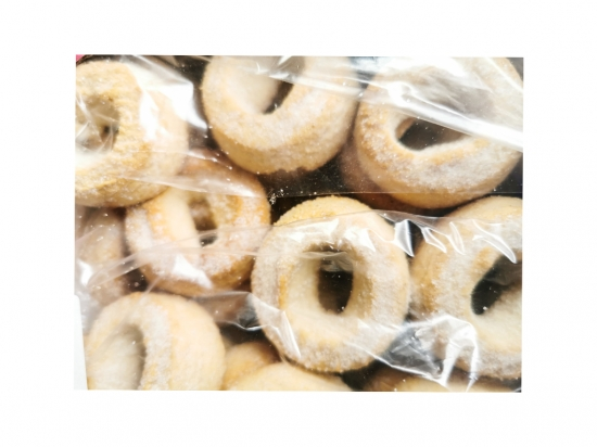 Anise donuts. NET WEIGHT 700 GR.